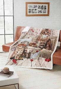 Animal Mink Throws