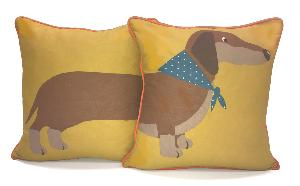 Sausage Dog Cushion Covers