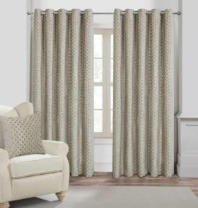 Luxury Jacquard Palermo Curtains