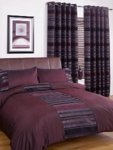 New York Duvet Cover Set and Curtains