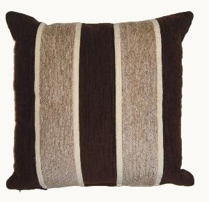 Oxford Striped Chenille Cushions