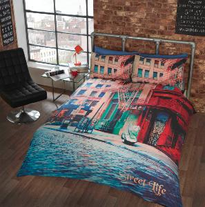 Street Life Duvet Cover Set