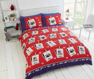 Pug's Life Duvet Cover Set