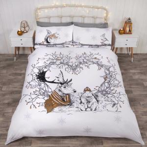 Stag and Friends Duvet Set