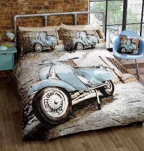 Scooter Duvet Cover Set