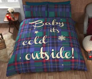 Baby It's Cold Duvet Set