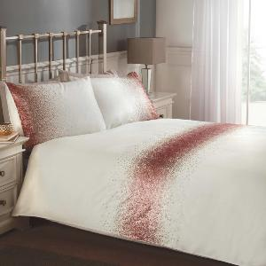 Shimmer Embroidered Duvet Set