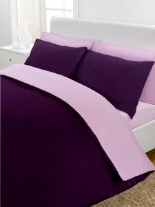 Percale Reversible Duvet Set