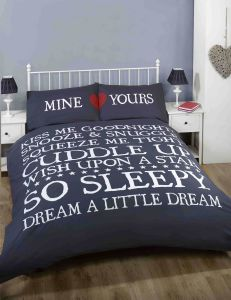 MINE YOURS DUVET SET